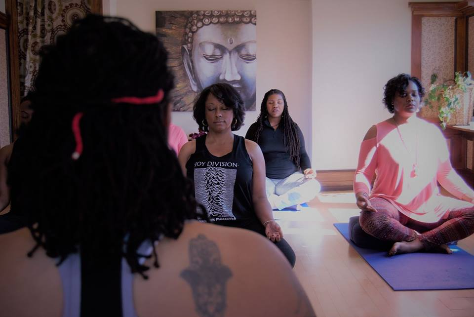 The Zen Dragonfly yoga class in the Walnut Way Wellness Studio