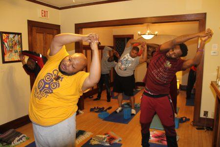 Men's Yoga Fiya Class Kicks Off this Week!