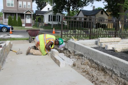 In the Media: Landscaping enterprise employs Lindsay Heights residents who face hiring barriers