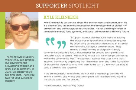 Donor Spotlight: Meet Kyle