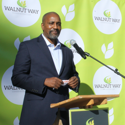 Wellness Commons Antonio Butts Executive Director Walnut Way